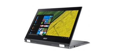 Portatil Acer Spin SP513-52N-590J 13.3 FHD Corei5 8250U 8GB 256SSD Win10 Home, Silver