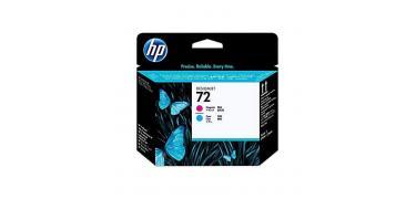 Cabezal de impresión DesignJet HP 72 magenta y cian