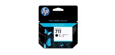 Cartucho de tinta DesignJet HP 711 de 80 ml negro